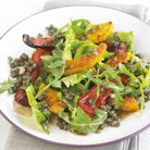 Warm Salad of  Roasted Butternut Squash  with Puy Lentils