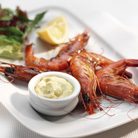 Chargrilled Prawns with Aioli