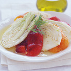 Fennel with Chargrilled Peppers