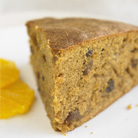 Ginger, Orange and Sultana Cake