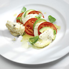Tomato, Avocado and  Mozzarella Salad (Insalade Tricolore)
