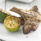 Lamb Chops with Garlic  and Rosemary