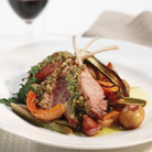 Lamb with Roasted Vegetables