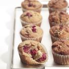 Raspberry & Vanilla Muffins