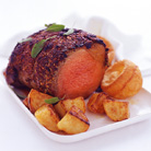 Perfect Roast Beef  and Roast Potatoes