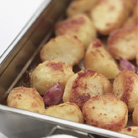 Roast Potatoes with Garlic