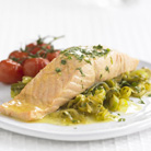 Aromatic Salmon and Leek Parcels