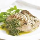 Sicilian Style Tuna with Salsa Verde