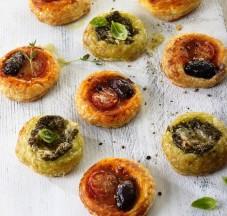 Pesto Tartlets