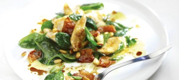Chicken,Bacon,Spinach-Salad