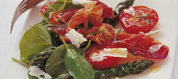 Spinach-Prosciutto-Salad