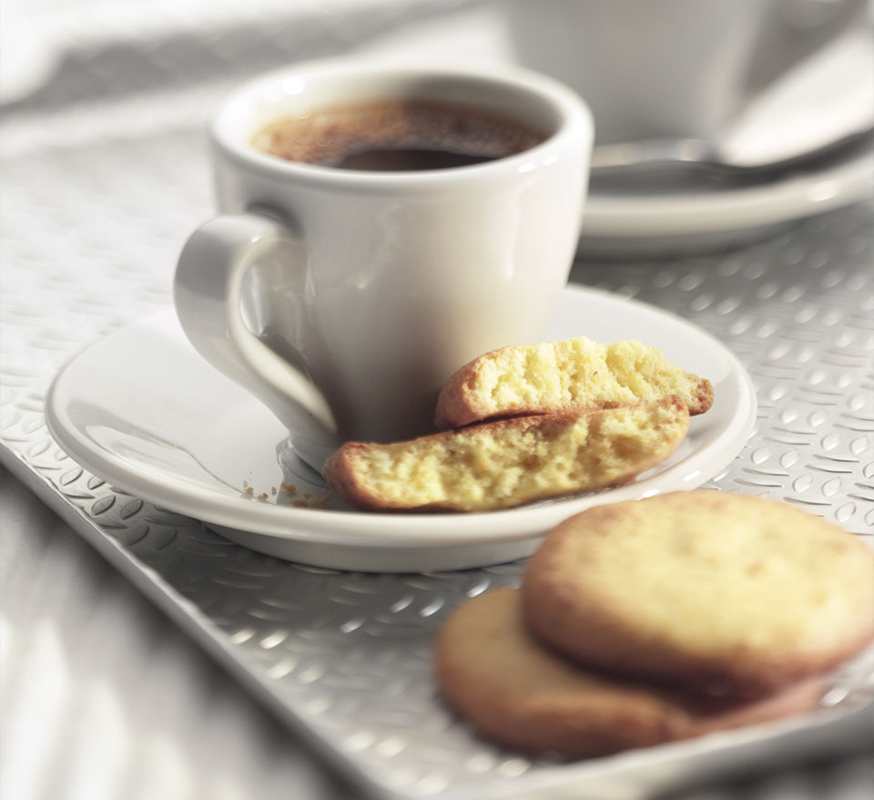 Almond, Orange and Polenta Biscuits