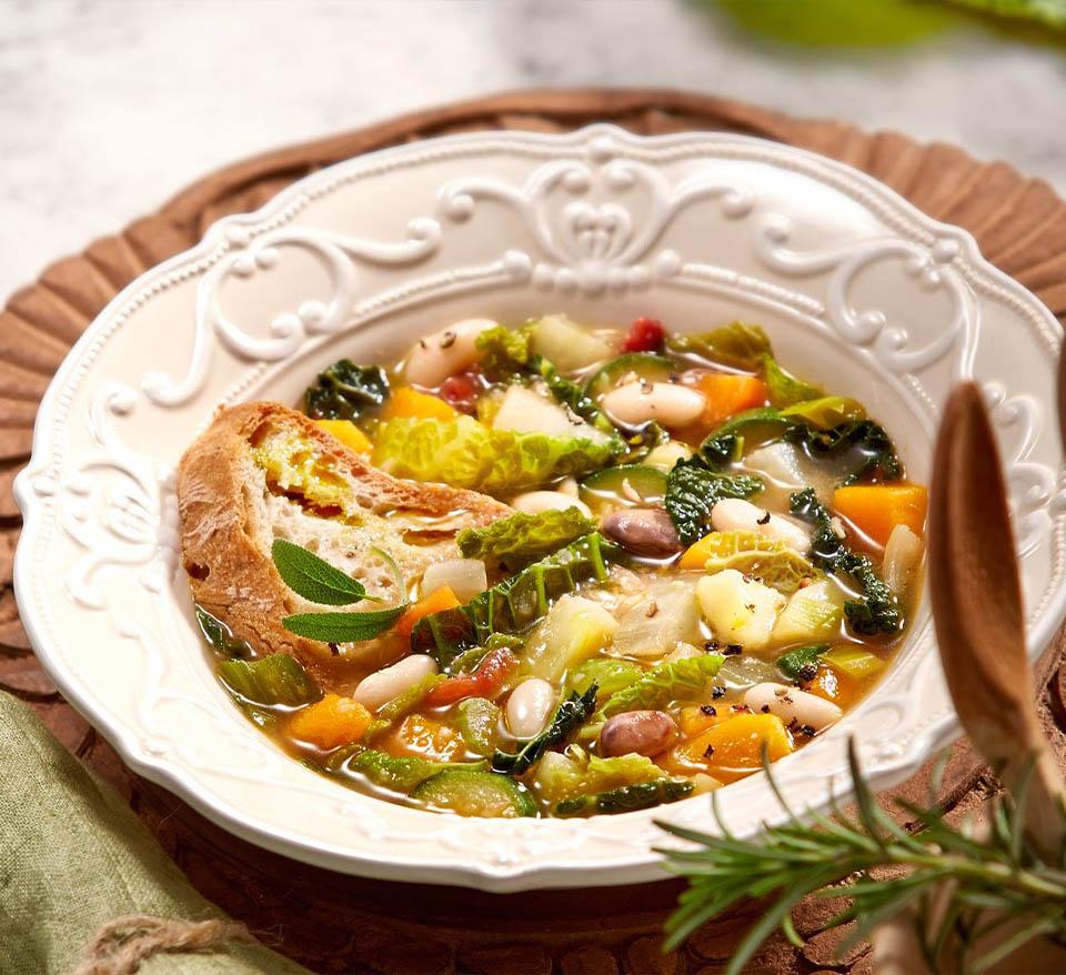Olive Harvest Soup – Tuscan
