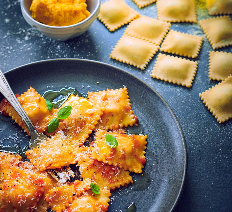Squash, Sage and Mascarpone Pasta